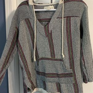 Vintage Sweater with Hoodie